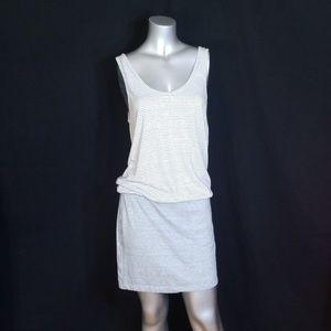 💎LOU & GREY LINEN DROP WAIST STRIPE TANK DRESS